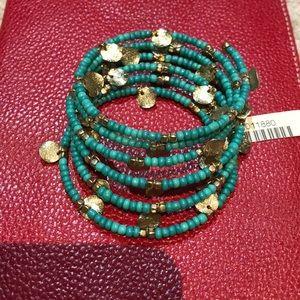 Jewelry - Fun elastic and beaded bracelet
